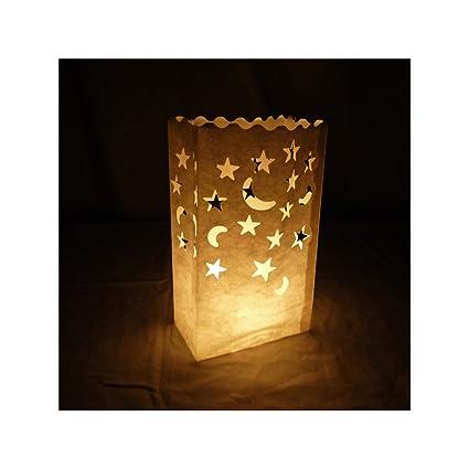 Amazon.com: quasimoon Luminaria bolsas por paperlanternstore ...