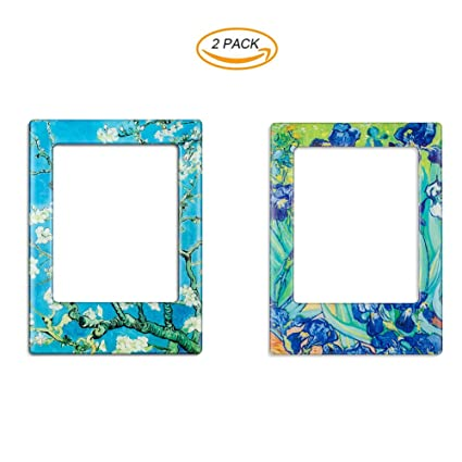 Amazon 2 Pack Magnetic Picture Frames For Refrigerator Fridge