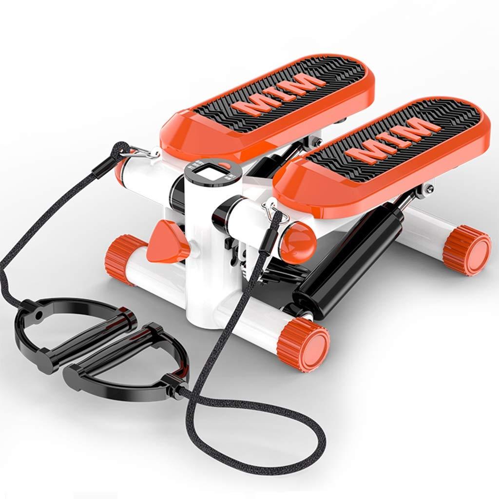 ステッパー ステッパーホームその場でのクライミングマシン多機能細いウエストマシンフィットネス機器減量ペダルマシン無料インストール積載量110キロ (Color : Orange, Size : 38*30*20cm) 38*30*20cm Orange B07PPF5RR8
