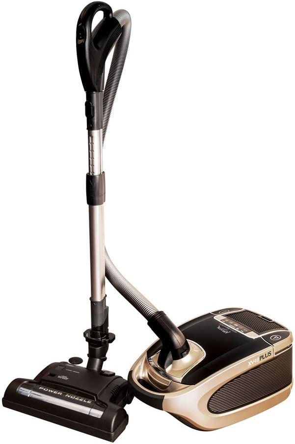 Johnny Vac Xv10plus HEPA Filtration Power Team Canister Vacuum
