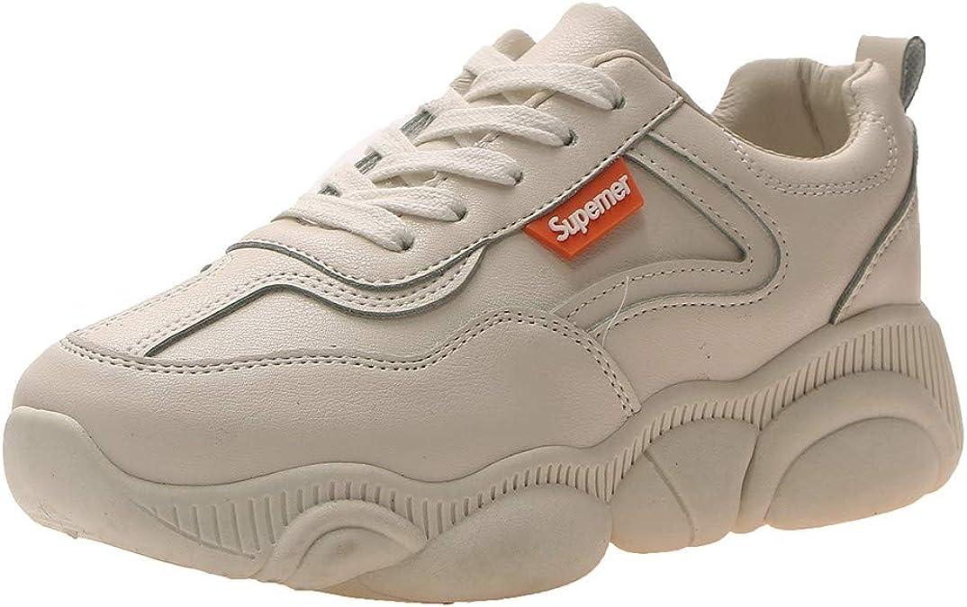 Shoes Med Lace Up Girls Sneaker Beige