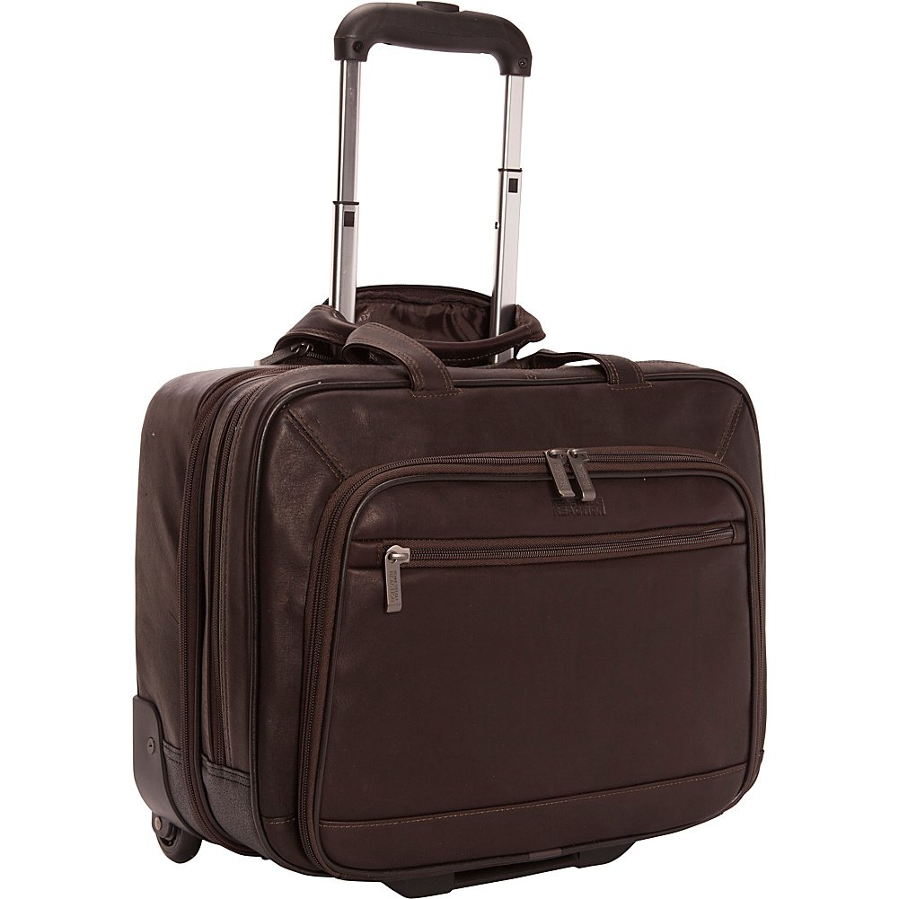 Kenneth Cole Reaction Okay Wheeled Business Case, Brown