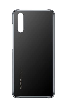 Huawei P20 - Color Cover, Black - suitable P20: Amazon co uk