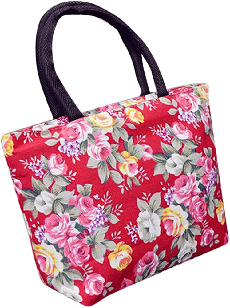 Floral Printed Canvas...