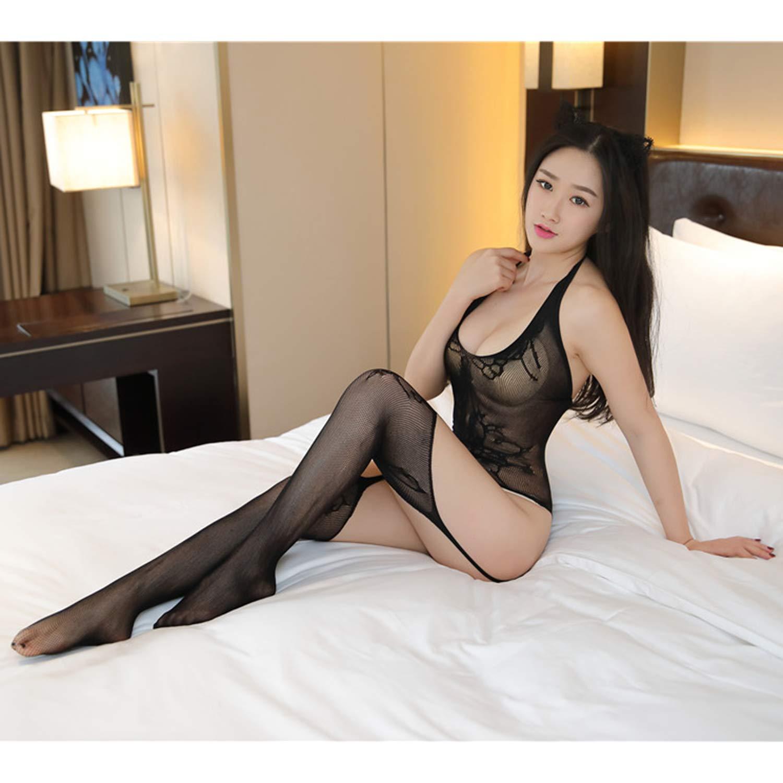 Diversión sexy Larga 3 UNIDS Manga Larga sexy Medias de Leche Materna Nalgas Sexy Ropa de Malla Sexy de Las Mujeres 's Regular de Encaje de Gran Tamaño Encaje fuera del hombro transparente Body Sexy Ropa Interior 452961