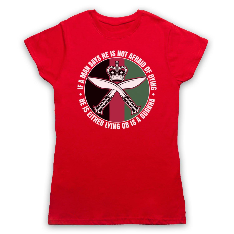 1a3720ca My Icon Women's Gurkha Regiment Sam Manekshaw Army Quote T-Shirt at Amazon  Women's Clothing store: