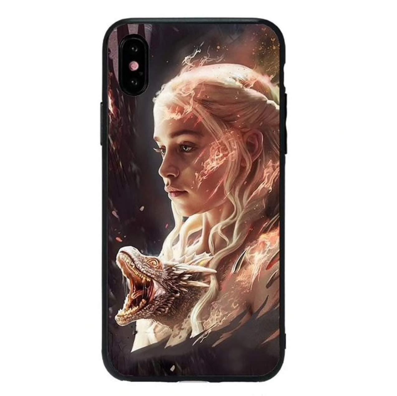 Fundas para iPhone, Serie Juego de Tronos Jon Snow Dragon ...