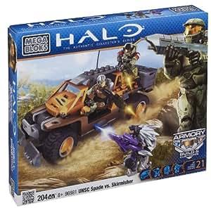 Mega Bloks 96981 Halo UNSC Pioneer Contra Sniper Jackal