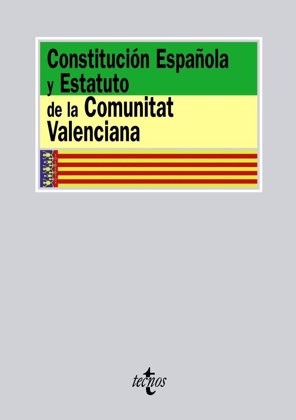 Constitución Española y Estatuto de la Comunitat Valenciana Derecho - Biblioteca de Textos Legales: Amazon.es: Aa.Vv.: Libros