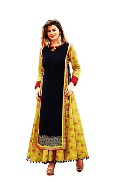 02278e1d0a6 Kajal Style Women's Cotton Kurti (Multicolour, XL): Amazon.in: Clothing &  Accessories