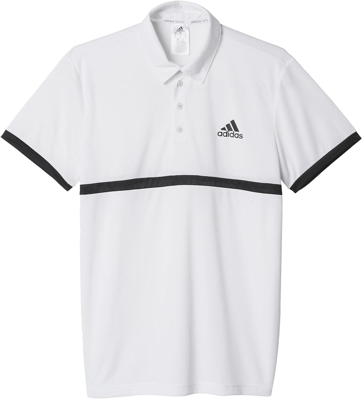 adidas Court Polo de Tenis, Hombre, Blanco, 2XL: Amazon.es: Ropa y ...