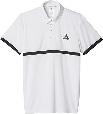adidas Court - Polo para Hombre, Color Blanco/Negro: Amazon.es: Ropa y accesorios