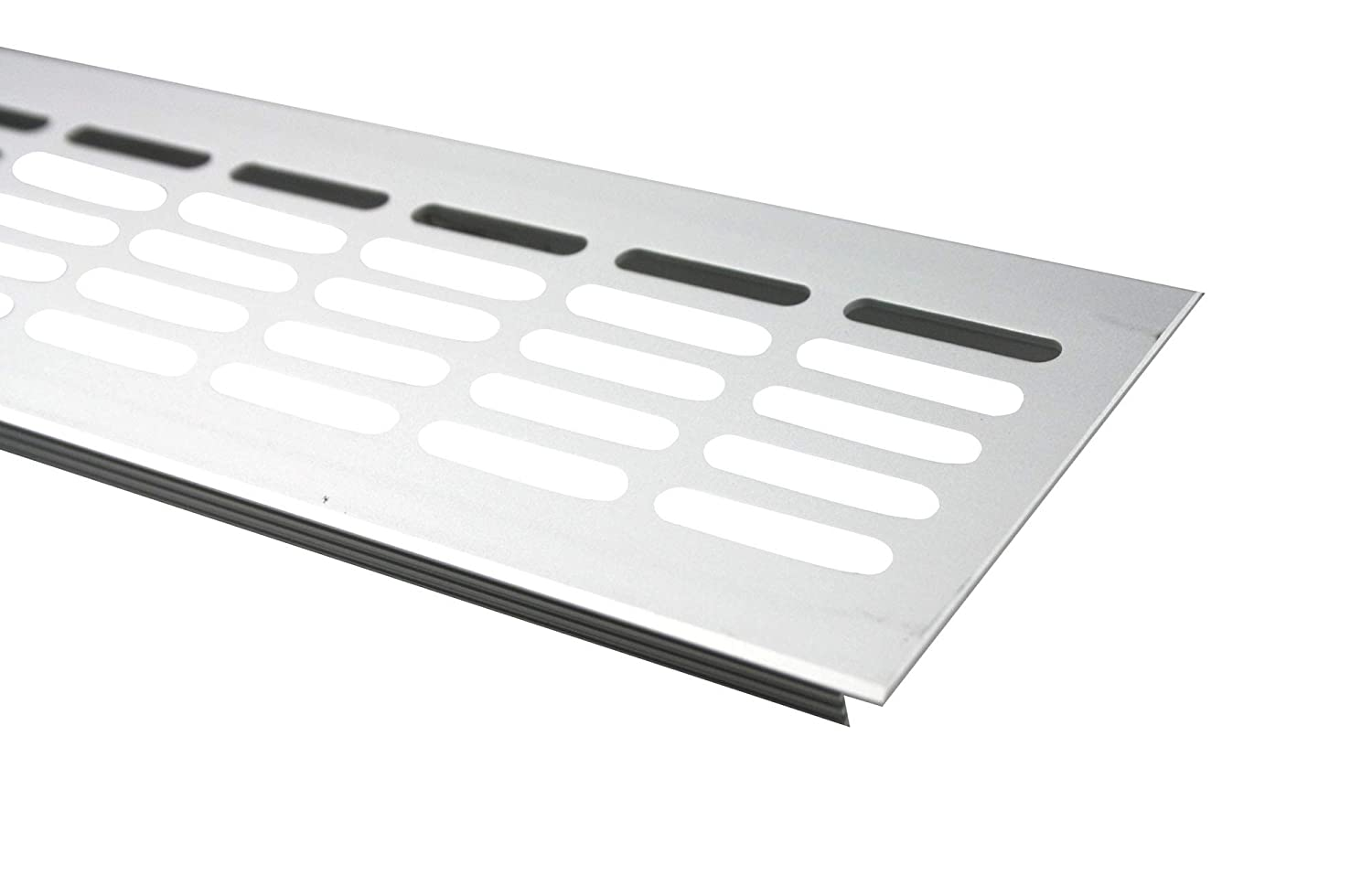 MS Fittings® Aluminium Ventilation Grille, Heater Cover, 80 mmx 200mm, Various Colours (Black-RAL 9005) 80 mmx 200mm Various Colours (Black-RAL 9005) MS Beschläge