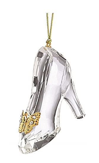 Amazon lenox disney cinderellas glass slipper ornament lenox disney cinderellas glass slipper ornament princess shoe christmas aloadofball Gallery