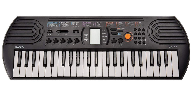 Casio 44 Key SA-77 44 Key Mini Personal Keyboard, 44 Key ( (Renewed) by Casio
