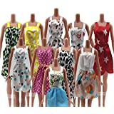 0fc0b4bbfb10 P S Retail Handmade Party Clothes Fashion Dress Compatible With Barbie Doll  (Assorted) Pack of