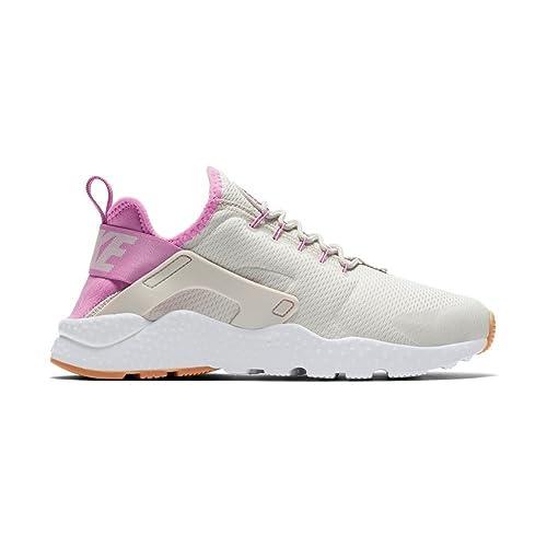 diseño profesional gran calidad super popular Zapatillas Nike - Wmns Air Huarache Run Ultra Hueso/Morado/Blanco ...