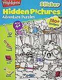 Highlights Sticker Hidden Pictures Adventure Puzzles, Highlights for Children Editorial Staff, 1620917645