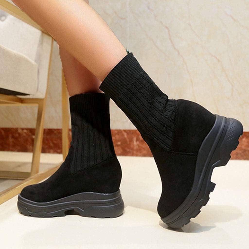 Snow Boots Women Waterproof Miuye yuren Fashion Platforms Shoe Winter Soft Footwear Mid Calf Ankle Booties