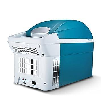 LIQICAI 8L Nevera Portatil Camping Portatil Electrica 12V DC (Coche)/230V AC (