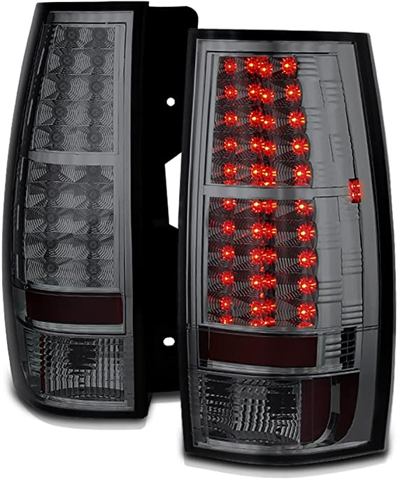for 2007-2013 Chevrolet Suburban 2500 Rear Tail Light Lamp Assembly // Lens // Cover Right Side 22837924 GM2801196 Replacement 2008 2009 2010 2011 2012 Go-Parts Passenger