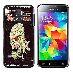 Dragon Case - FOR Samsung Galaxy S5 Mini, SM-G800 - Happy Hallowen party - Caja protectora de pl??stico duro de la cubierta Dise?¡Ào Slim Fit