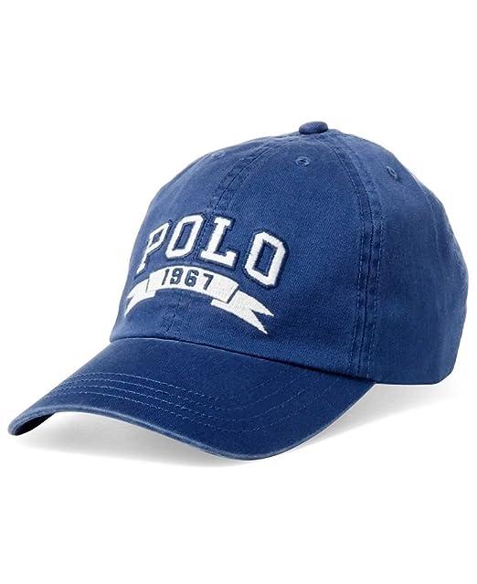 Ralph Lauren - Gorra de béisbol Polo 1967 - Para niños - Blue - Talla única: Amazon.es: Ropa y accesorios