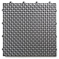 DuraGrid DT40GRAY Outdoor Modular Interlocking Multi-Use Deck Tile (40 Pack), Gray, Piece