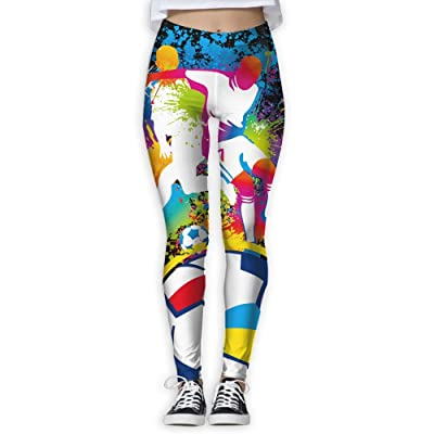 Football 7 Player Attack Women s Compression Pants Sports Leggings Tights  Baselayer Trousers For Yoga Fitness 2ada05ea6a