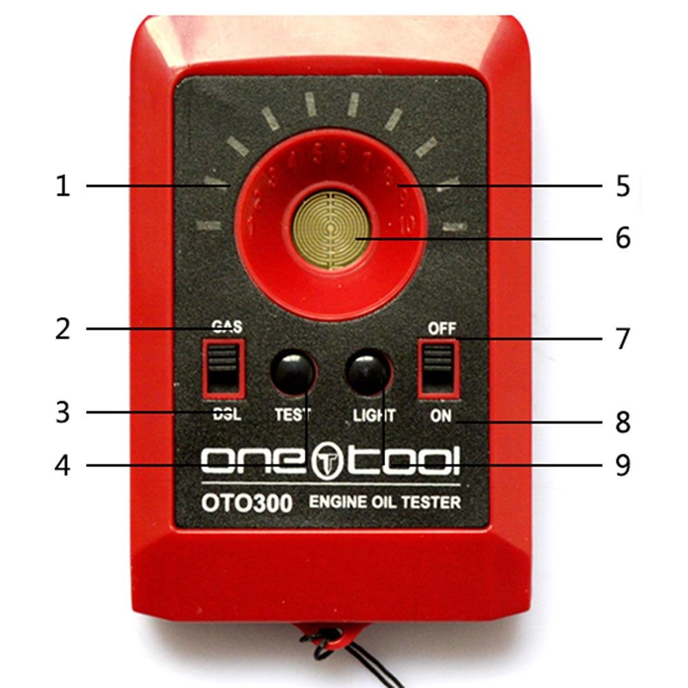 OTO300 Motor Engine Oil Tester - Instantly Know If Your Oil Needs Changing