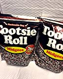 Tootsie Roll Midgees 5 Pound Bag - 760 Count (Pack of 2)
