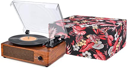 Blue Premium Fabric CYFC556 SL-1210 /& Pioneer PLX-1000 Record Player Protector Water Resistant Antistatic Turntable Dust Cover for SL-1200