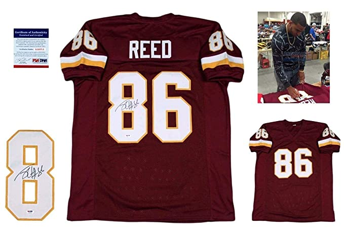 Jordan Reed Autographed Signed Jersey - PSA DNA Authentic at Amazon s  Sports Collectibles Store eec14152c