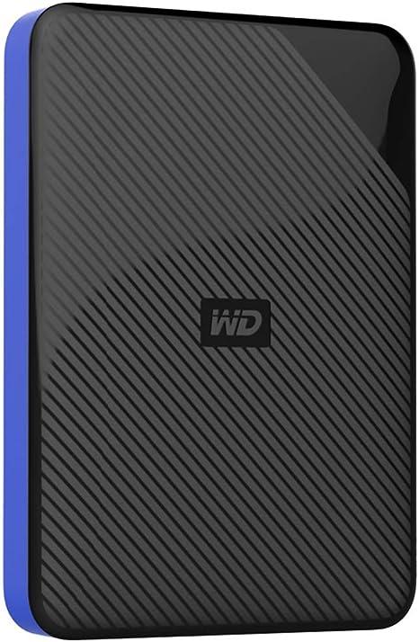 כונן קשיח חיצוני נייד Western Digital Game Drive WDBDFF0020BBK 2TB USB 3.0 ל- Playstation 4