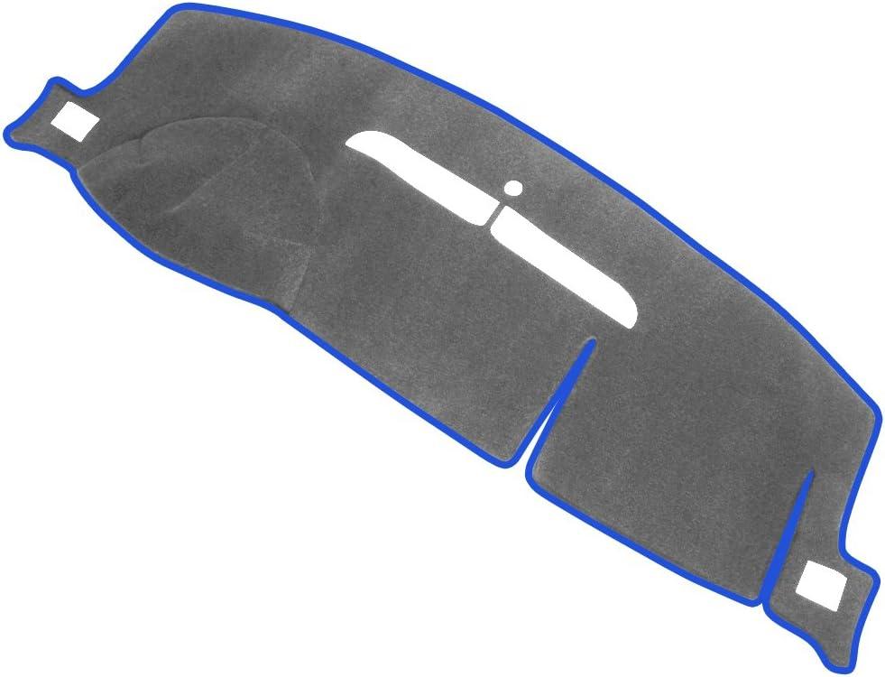 Black MR-057 JIAKANUO Auto Car Dashboard Carpet Dash Board Cover Mat Fit Chevy Chevrolet Silverado 1997-1998