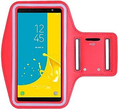 JFSH para el Estuche Galaxy A7 2018, Estuche Sport Running Arm Band para Samsung Galaxy A7 2018 6.0