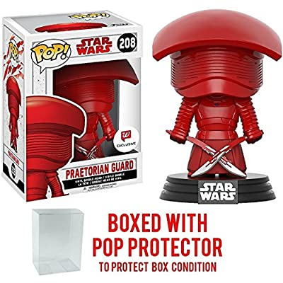 Funko Pop! Star Wars: The Last Jedi - Praetorian Guard with Dual Swords #208 Walgreens Exclusive Vinyl Figure (Bundled with Pop BOX PROTECTOR CASE): Toys & Games
