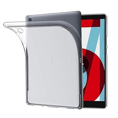 super popolare be5e7 de93e TopACE Cover Huawei MediaPad T5 10 Huawei MediaPad T5 10 Custodia Puro  Trasparente Morbida TPU Silicone Ultra Sottile Case per MediaPad T5 10 ...