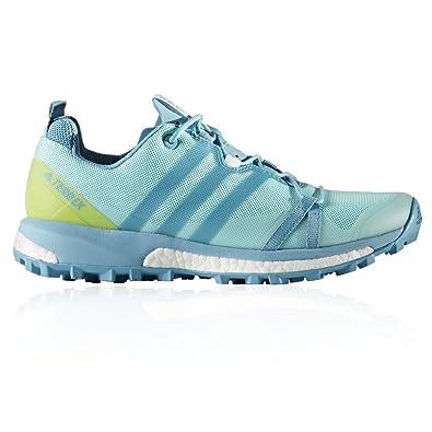 adidas Terrex Agravic W, Chaussures de Randonnée Basses Femme, Multicolore (Agucla/Azuvap/Seamso), 40 EU
