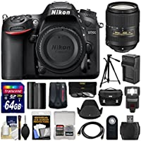 Nikon D7200 Wi-Fi Digital SLR Camera Body with 18-300mm VR Lens + 64GB Card + Case + Flash + Battery/Charger + Tripod + Kit Basic Intro Review Image