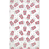 Popcorn Movie Night Floor Covering/Mat: Medium Soft and Stain Resistant