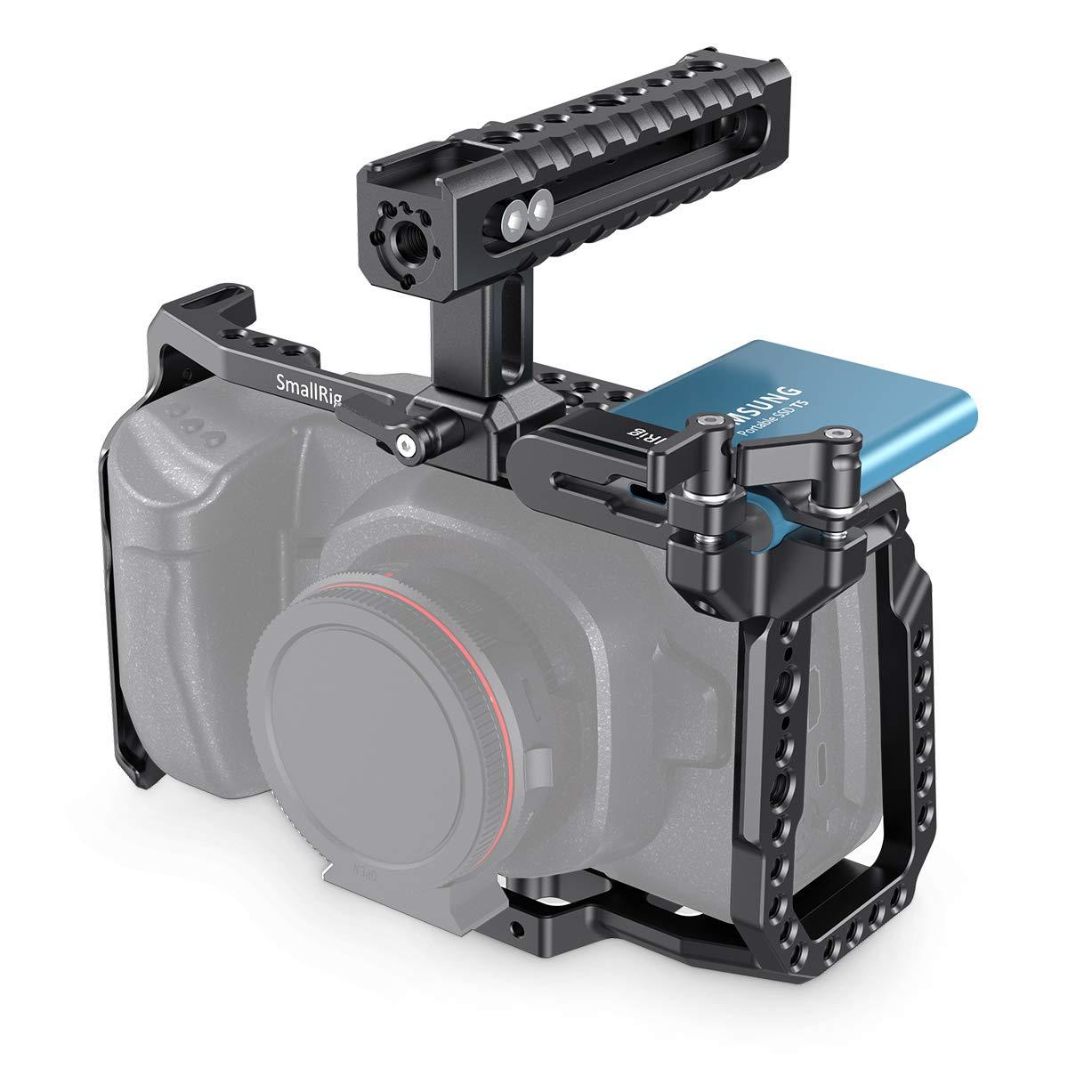 SMALLRIG Camera Cage Kit for Blackmagic Design Pocket Cinema Camera 4K & 6K, Compatible with BMPCC 4K & 6K - KCVB2419 by SMALLRIG