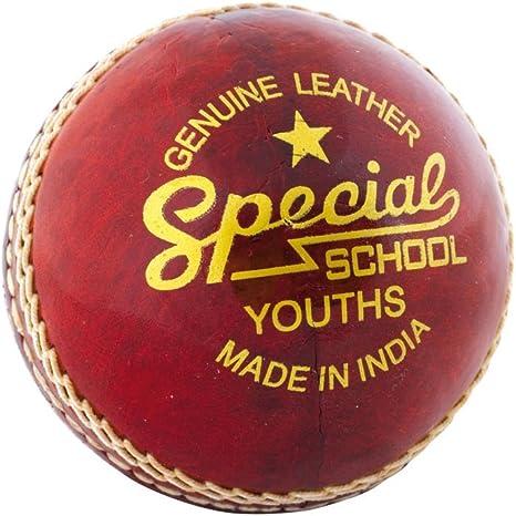 Junior Pink Quick-Tech Cricket Ball