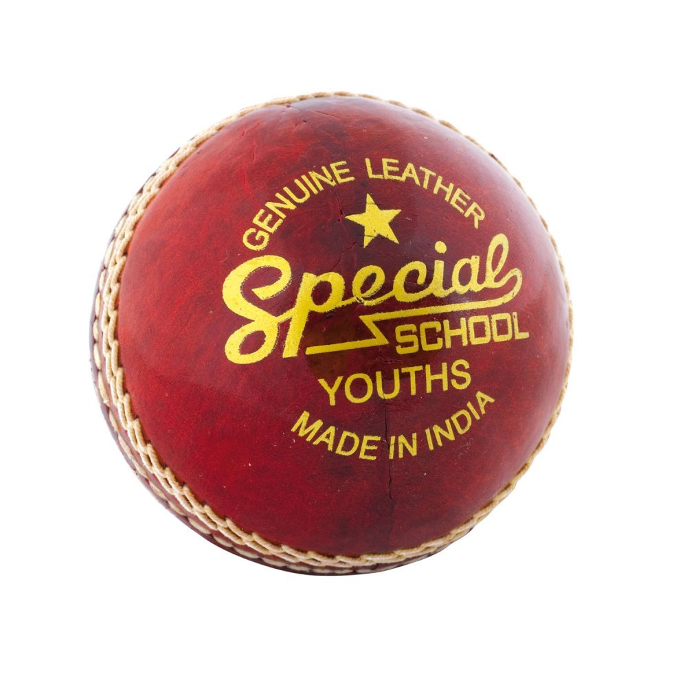 Readers Special School Leather Cricket Ball Youths 4.75oz by Readers