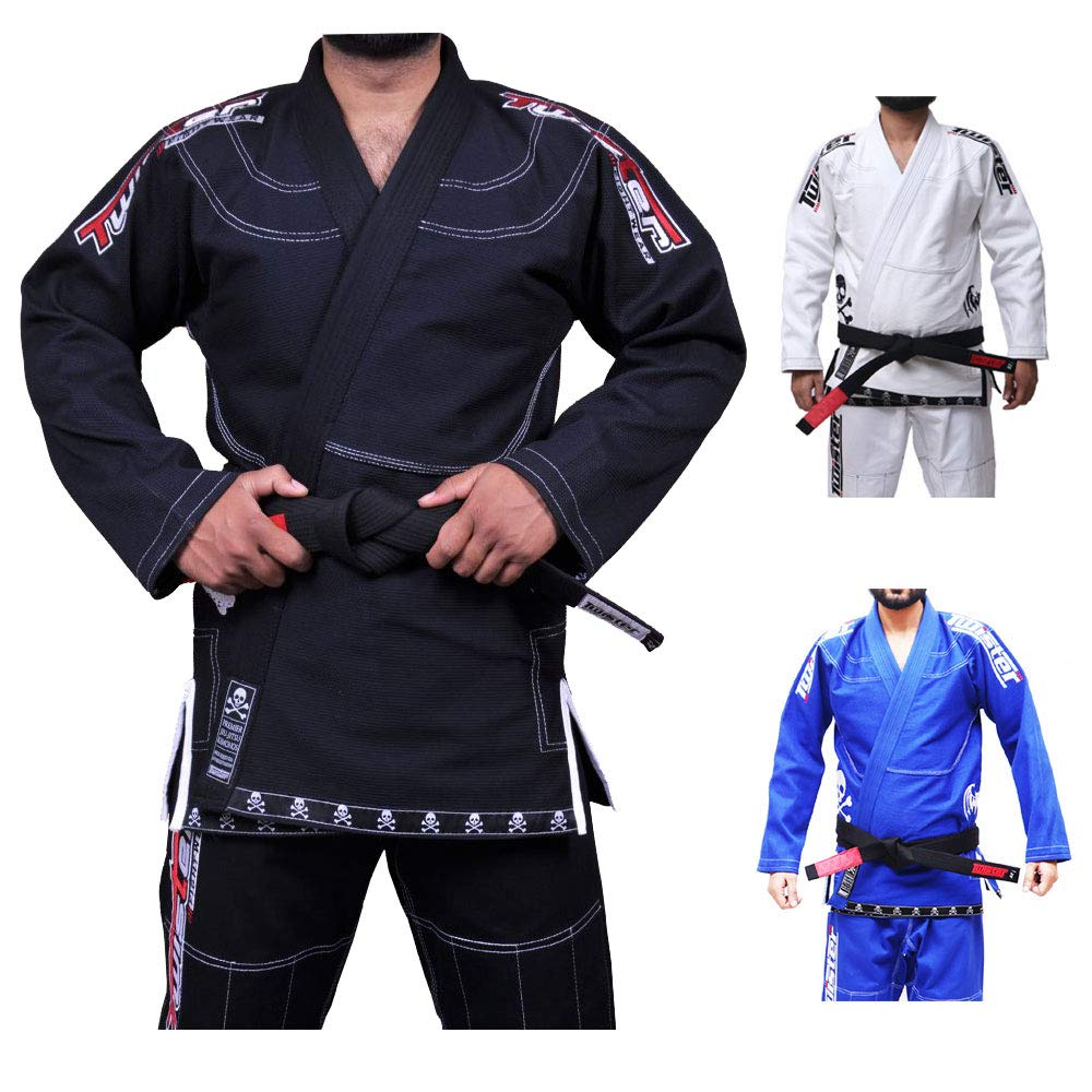 Jiu Jitsu Gi Uniform MMA A5 Brazilian Fight Wear Spartacus Edition II BJJ