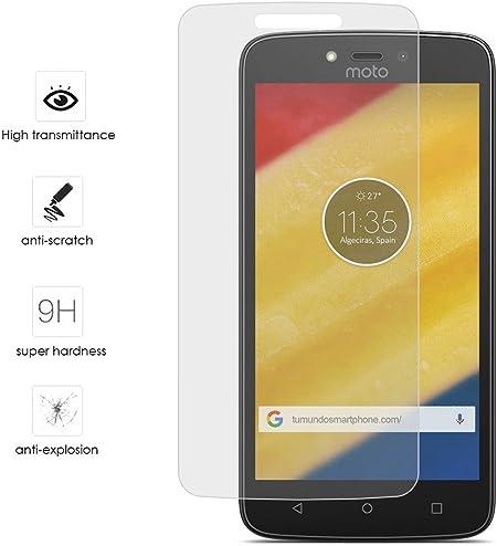 Tumundosmartphone Protector Cristal Templado para Motorola Moto C ...