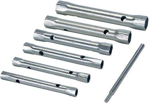 8 pièces jeu Silverline Métrique rohrsteckschlüssel