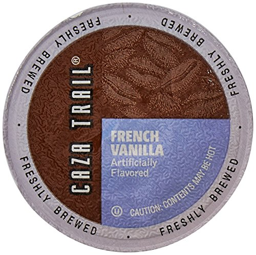 Caza Trail Coffee, French Vanilla Blend, 100 Single Serve Cups