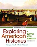 Exploring American Histories, Volume 1 2nd Edition