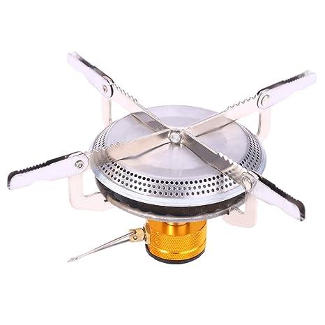 Al aire libre estufa de gas quemador Mini cabeza Camping estufa cocina arrancador de fuego encendedor